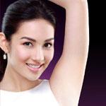 Waxing Underarm Hair